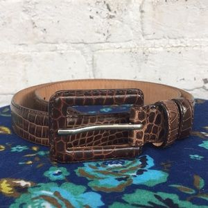 Ann Taylor leather belt